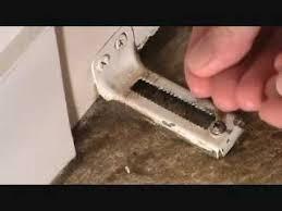 How To Adjust Closet Doors How To Adjust The Bottom Of A Bi Fold Door