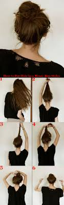 put up hair styles for thin hair how to put hair in a messy bun styles hair care tips