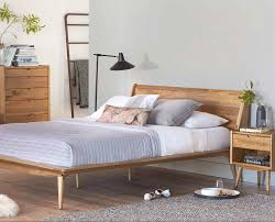 Platform Style Bed Frame Scandinavian Designs The Nordic Inspired Bolig Bed Is Crafted