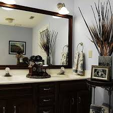 how to decorate bathroom mirror before after bathroom mirror makeovers hooked on houses
