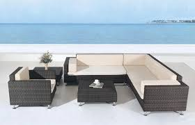 Outdoor Furniture Sectional Sofa Outdoor Patio Furniture Sectional Avrim Patio Sectional Sofa Set