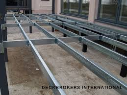 light gauge steel deck framing steel deck framing steel deckframe system cueto deck