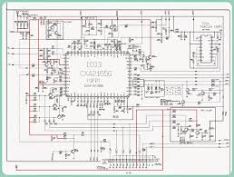component crt block diagram g6 electronics old philips colour tv