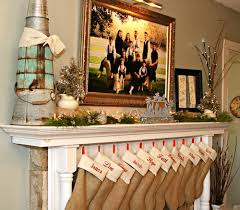 Home Decor With Burlap Burlap Stockings Christmas Decorating Ideas Perfectly