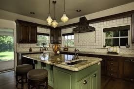 vintage kitchen island traditional vintage kitchen design with kitchen island with