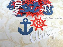 Amazon Anchor Nautical Confetti Ahoy Its A Boy Anchor Ships