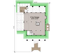 Floor Plans With Porches by Porches Cottage Piling Foundation Side Entrance Garage