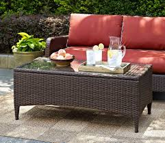 Fake Wicker Patio Furniture by Ways To Create An Outdoor Lounge Space Improvements Blog