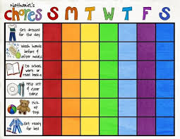 32 best chore charts images on pinterest activities childhood