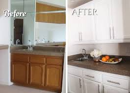 should i paint cabinets before installing countertop it has grown on me before and after bar renovation
