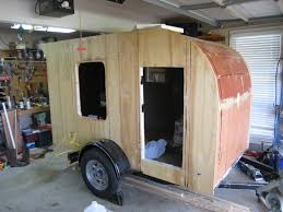 Diy Hard Floor Camper Trailer Plans Teardrops N Tiny Travel Trailers U2022 View Topic Low Budget No