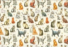 cat christmas wrapping paper classic cat gift wrap wrapping paper for cats at tattypuss