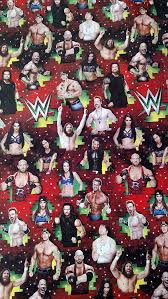 amazon com wwe wrapping paper christmas gift wrap 1 roll 70 sq