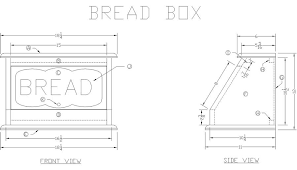 Free Woodworking Plans Build Easy by How To Make A Wooden Bread Box At Lee U0027s Wood Projects Free