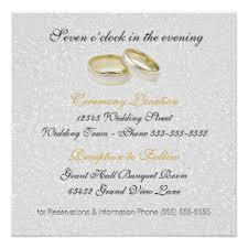 civil wedding invitation card sle 28 images simple wedding