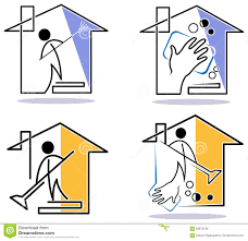 House Cleaning by House Cleaning Logo Stock Photo Image 17882510