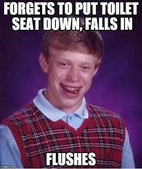 Toilet Seat Down Meme - awkward moment sealion meme imgflip