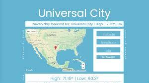 Weather Map Louisiana by Cayden Simler Full Stack Web Developer