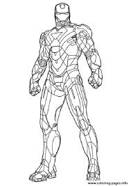 mark 2 a4 avengers marvel coloring pages printable