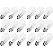 newhouse lighting outdoor weatherproof 11 watt s14 incandescent