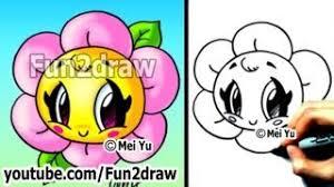 kawaii tutorial draw flower cute u0026 easy popular