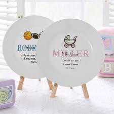 baby plates personalized baby plates baby birth plates