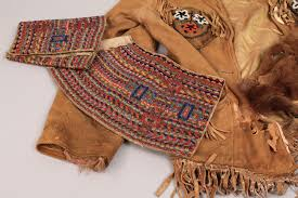 lot 569 lot of 3 inuit and plains indian clothing