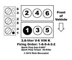 solved firing order 2007 v6 3800 pontiac grand prix fixya