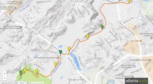 Map Of Atlanta Metro Area by Suwanee Greenway Trail At Suwanee Creek Park