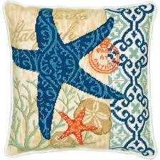 dimensions needlepoint kit starfish needlepoint kits