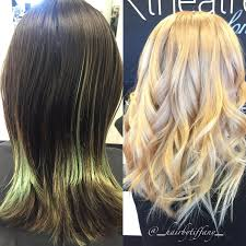 Hair Extensions St Louis Mo by Makeover Super Dark To Super Bright Blonde Career Modern Salon