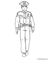 sketches for police officer uniform sketch www sketchesxo com
