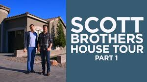 scott brothers las vegas house tour youtube