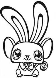 long eared bunny pet shop coloring pages batch coloring
