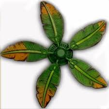 Ceiling Fan With Palm Leaf Blades by Palm Leaf Ceiling Fan Replacement Blade Fit On By Baypointfans