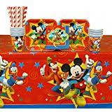 Mickey Mouse Party Theme Decorations - amazon com mickey mouse party supplies toys u0026 games