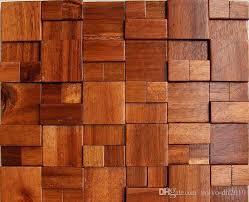 2018 3d wooden mosaic tiles interior design wall tiles building