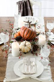 grant setting a simple thanksgiving table fall