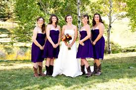 bridesmaid dresses with cowboy boots bridesmaid dresses with cowboy boots