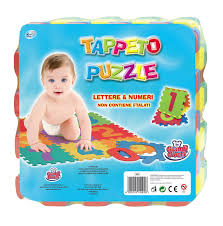 tappeti puzzle bambini grandi giochi gg15000 tappeto puzzle lettere e numeri 6 pezzi