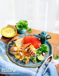 cuisine diet ป ทะเลน งสม นไพร gourmet cuisine magazine