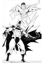 Printable 18 Batman Superman Coloring Pages 8599 Superman