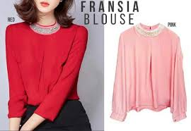blouse wanita 100 model baju atasan wanita terbaru 2017 gamis online murah
