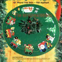 bucilla felt tree skirt kits fth international sales ltd