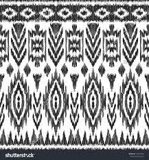vector ikat seamless pattern navajo aztec stock vector 572247568