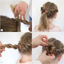 simple indian hairstyle step by step 4 glamorous teej special