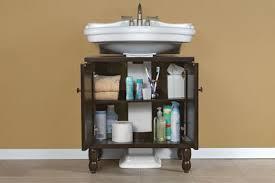pedestal sink vanity cabinet sinkwrap press release introducing sinkwrap