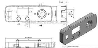 chest freezer parts electrical control panel parts view parts of
