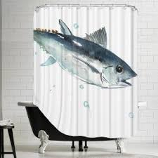 Shower Curtains With Fish Theme Shower Curtains With Fish Theme Best 25 Anchor Shower Curtains