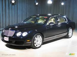 bentley continental flying spur black 2007 black sapphire bentley continental flying spur 18514501